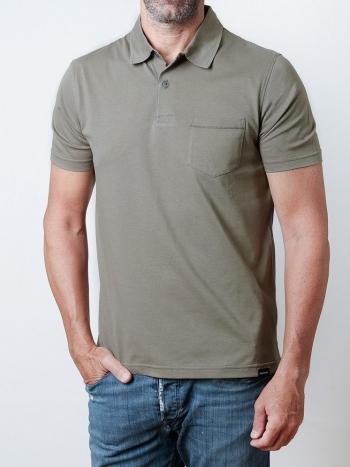 Polo Básico Verde Caqui