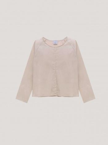 Camisa Manga Larga Beige / Habits