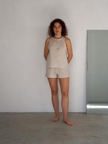 Pijama Corto Beige / Habits