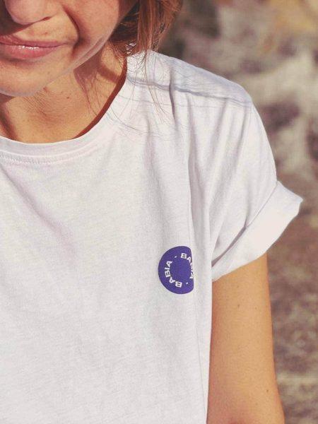 Camiseta BABIA Blue Stamp