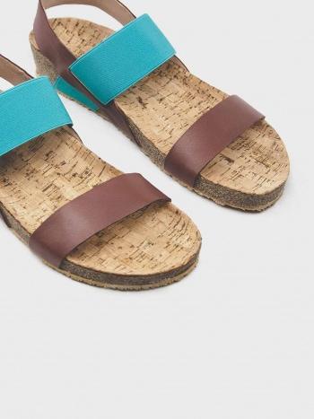 Sandalias Soleil Turquoise