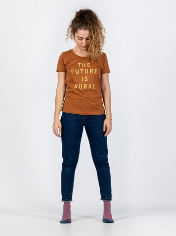 Camiseta The Future is Rural Mujer