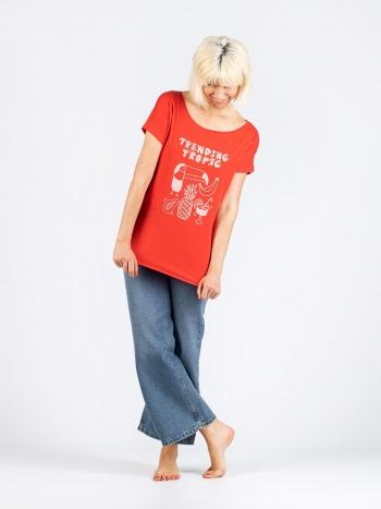 Camiseta Trending Tropic Mujer