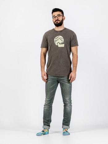 Camiseta Heavy Mental Hombre