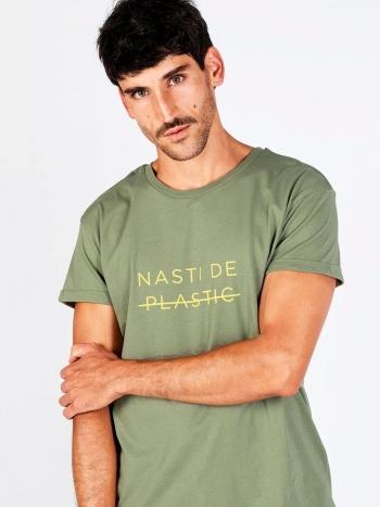 Camiseta Nasti de Plastic Olive Hombre