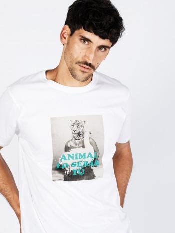 Camiseta Animal lo serás tú Hombre